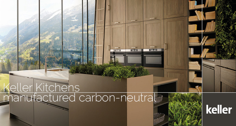keller kitchens carbon neutral