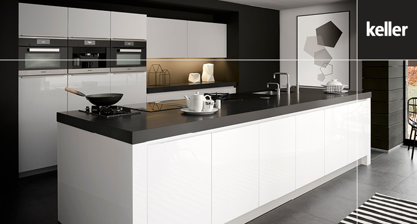 Modern Kitchen High Gloss GL4000