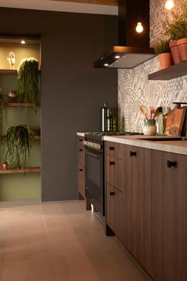 Classci kitchen trend Raw Nature