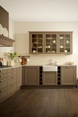 Keller shaker door kitchen