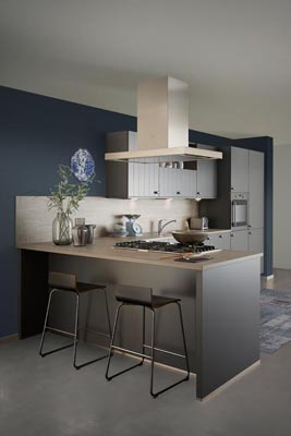 Keller kitchen Dutch prestige