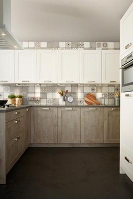 Country style Keller Kitchens