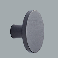 Keller Kitchens knob black brushed