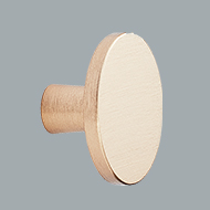 Keller Kitchens 679 knob gold