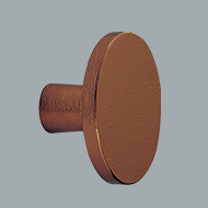 Keller Kitchens knob copper