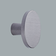 Keller Kitchens knob anthracite brushed