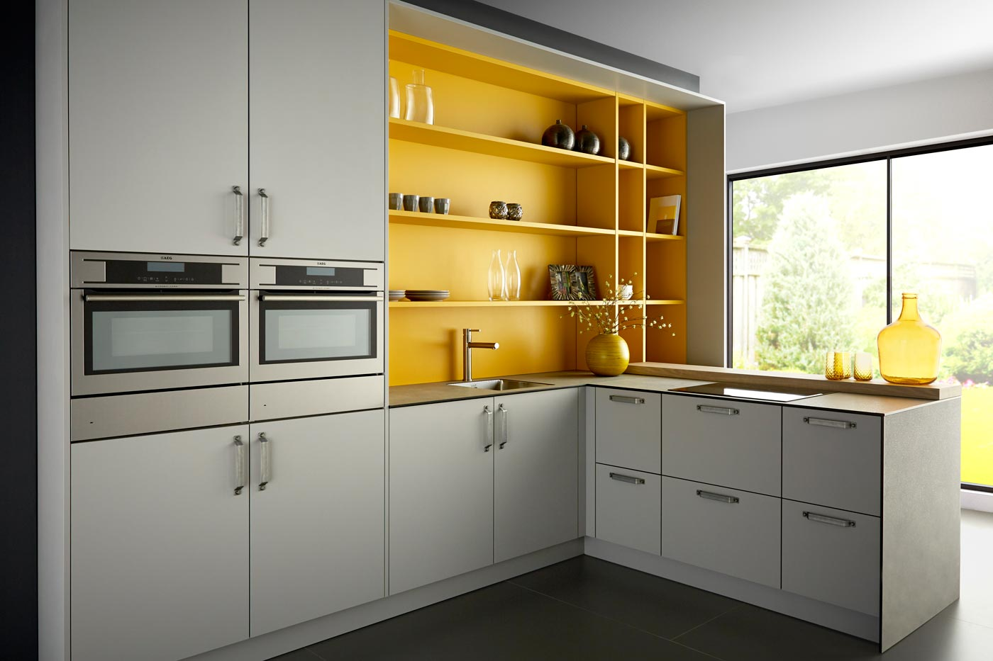 Modern industrial kitchen Crystal NCS