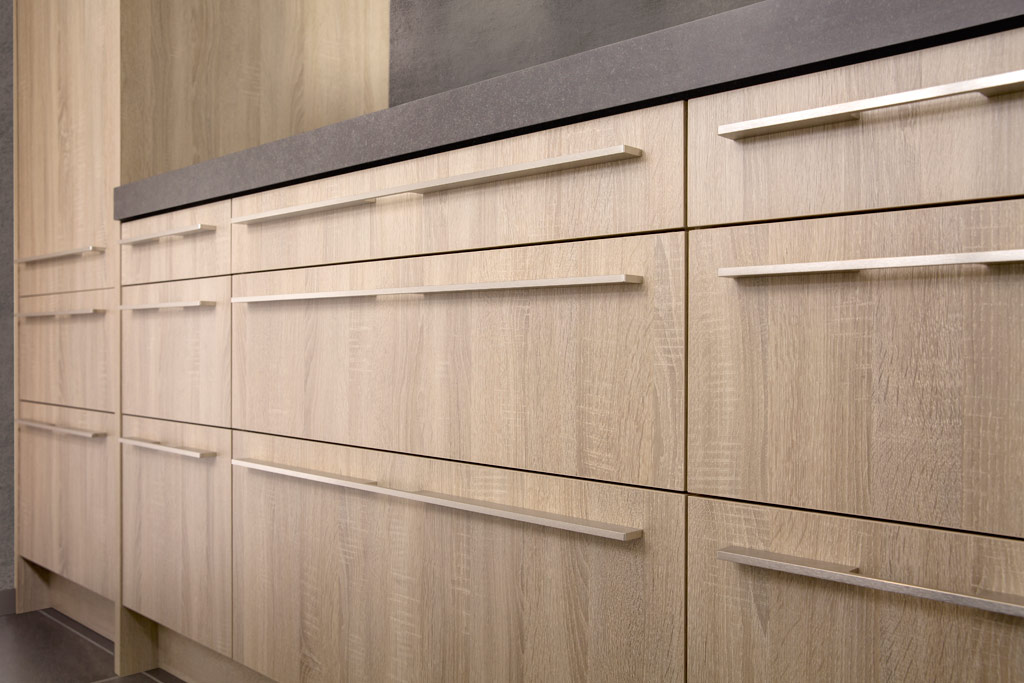 wooden look drawers with blum softclose