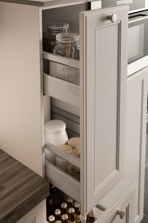 soft close tall drawers