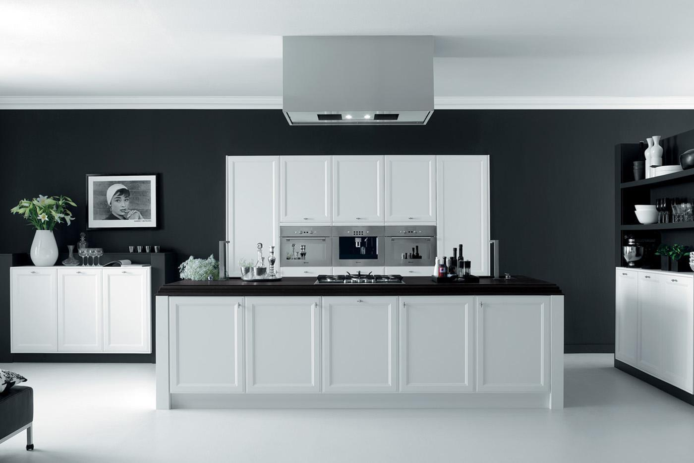 Modern kitchen Firenze White