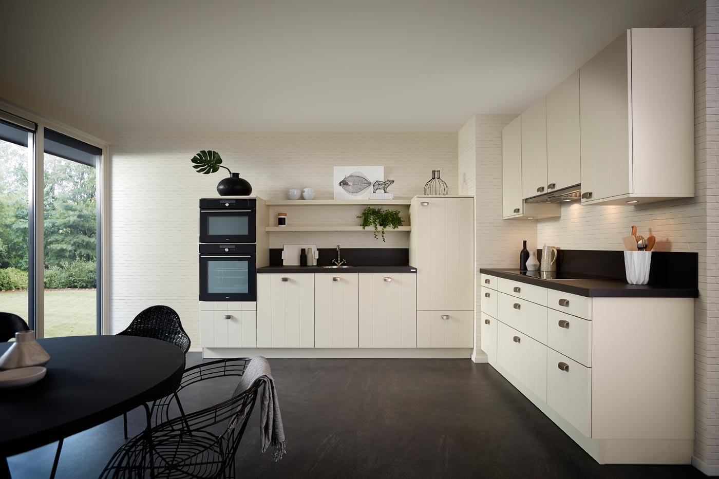 modern kitchen Ipswich shell