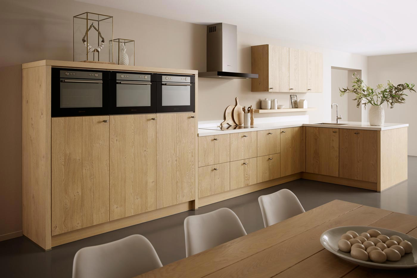 modern countryside kitchen Sutton Nature